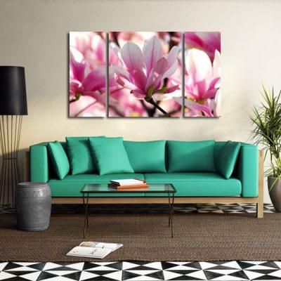 tryptyk z magnoliami