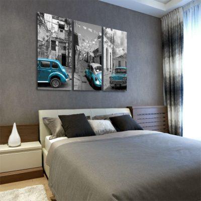 dekoracje z autami