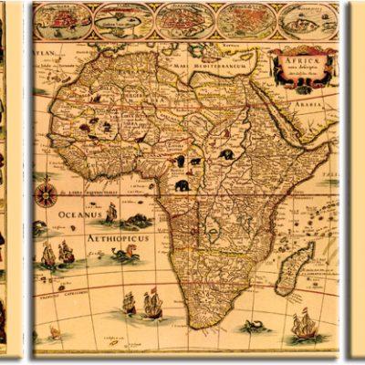 tryptyk z Afryką