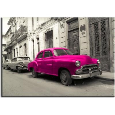 obrazy z samochodami