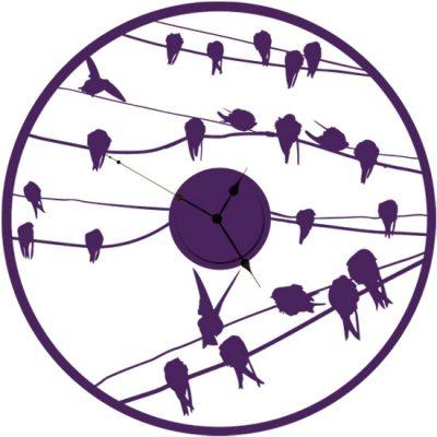 naklejki zegar