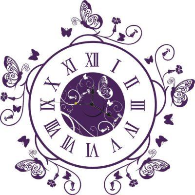 zegar samoprzylepny
