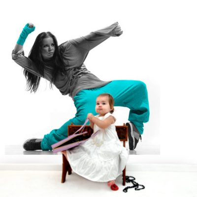 ozdoby z tancerką