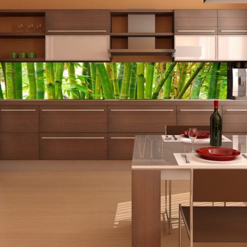 bambusy na okleinie