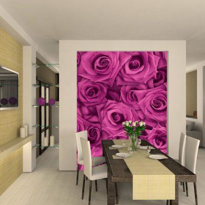 roże na tapetach