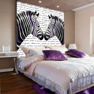 fototapety z zebrami