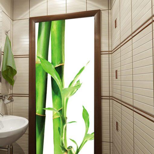 okleina z bambusami