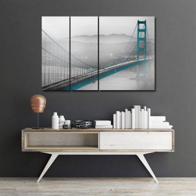 tryptyk z mostami