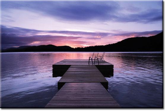 obrazy z zachodem słońca