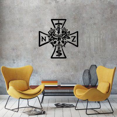 ornamenty z krzyżem