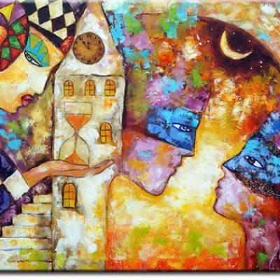 obraz jak malowany miłość
