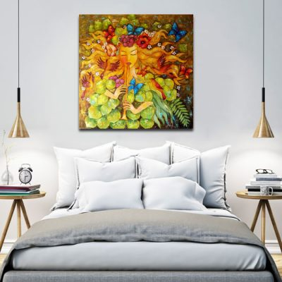 nowoczesne kolorowe obrazy