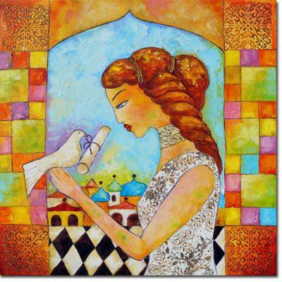 reprodukcja malarstwa Anna Wach