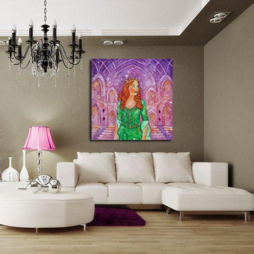 nowoczesne obrazy do salonu