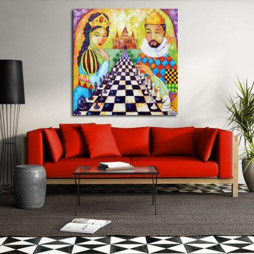 obraz szachy