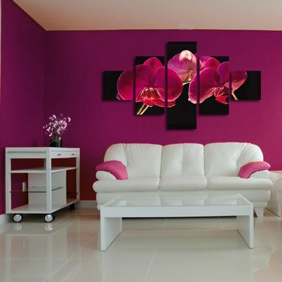 obraz kaskadowy orchidee