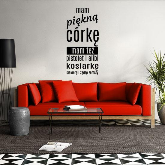 213af03d Jak ozdobiać ściany w nowoczesnym salonie » Dekochatka kreatywne ...