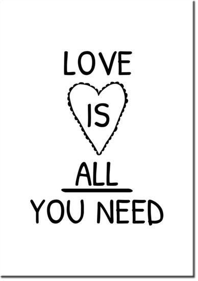 plakat o miłości