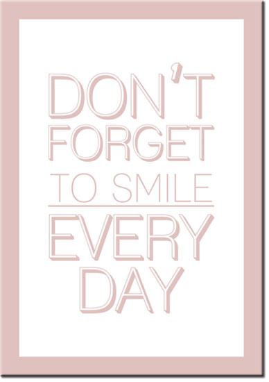 plakaty o uśmiechu