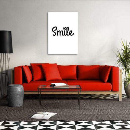 plakaty uśmiech