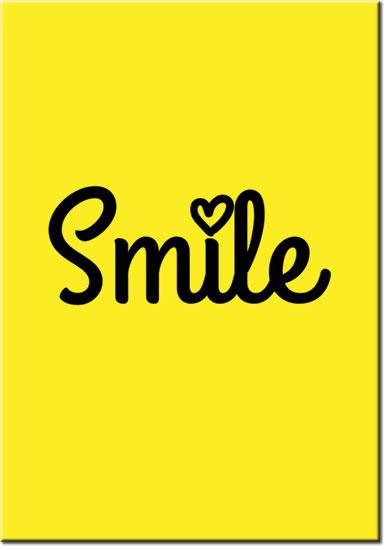 plakaty z smile