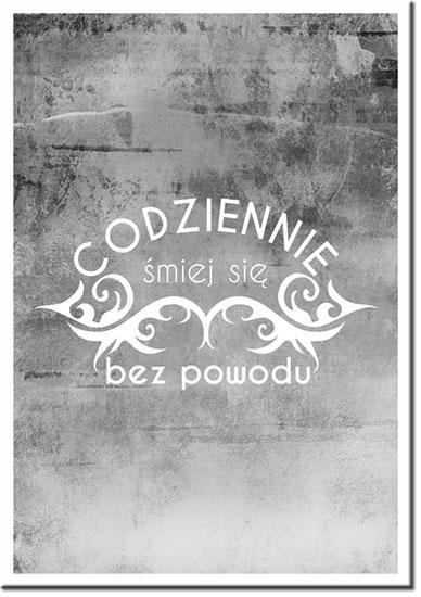 plakaty z sentencjami życiowymi