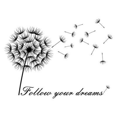 nalepki o marzeniach