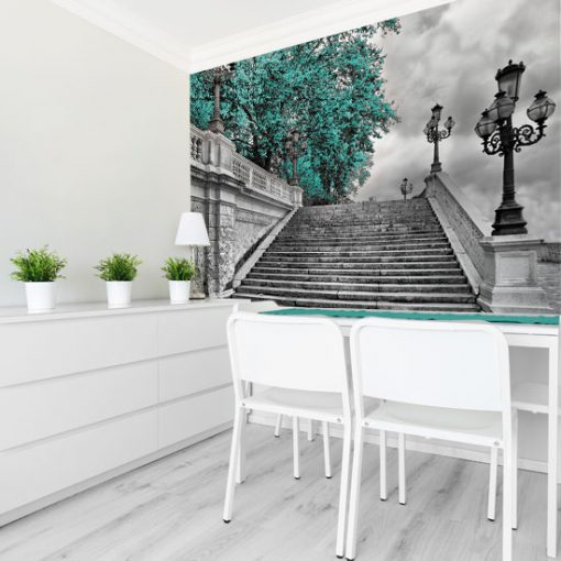 fototapety z e schodami