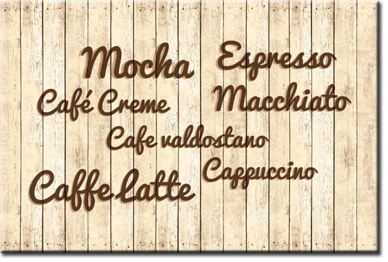 tapety z nazwami kawy