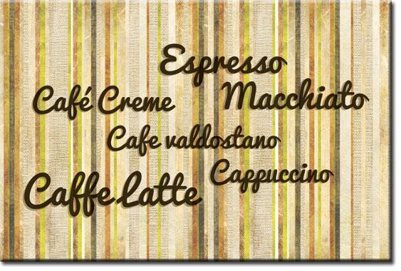 tapety znazwami kawy