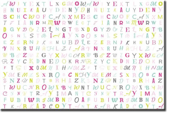 ozdoby z typografia