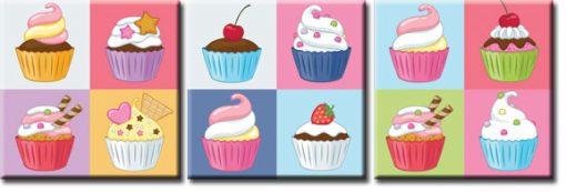 obrazy z muffinami