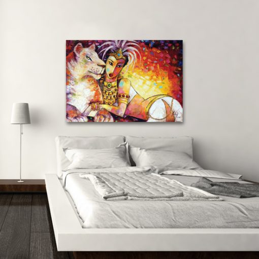 plakat z malarstwem - sułtanka