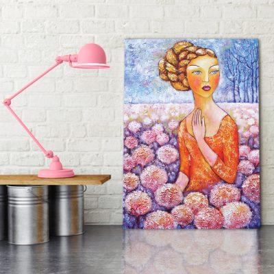 pastelowa dekoracja do sypialni