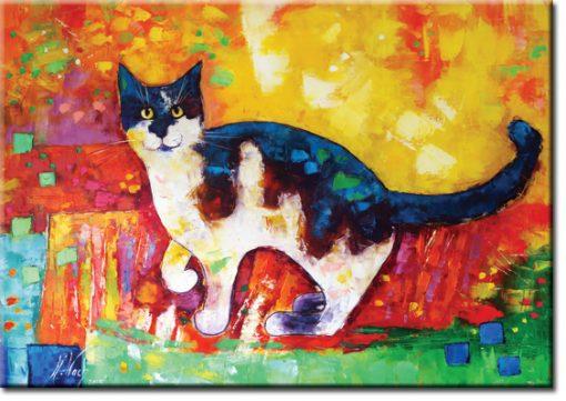 plakat jak malowany - portret kota