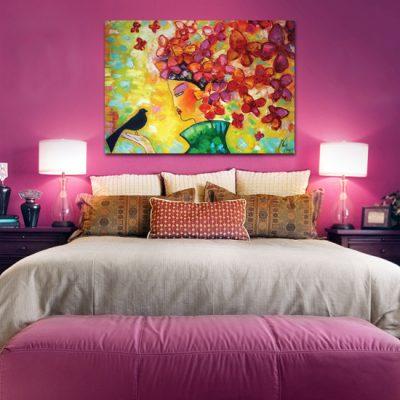 kolorowe plakaty z malarstwem Anny Wach