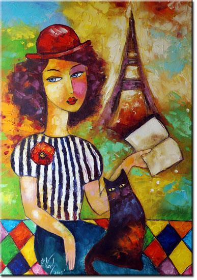 plakat czar Paryża