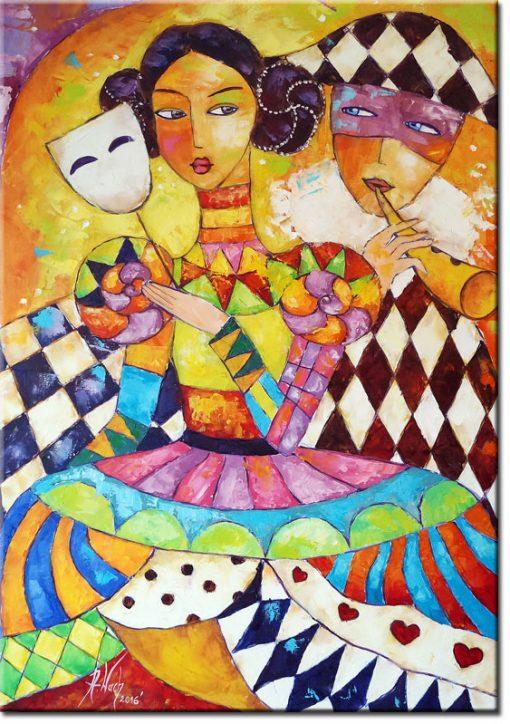 plakat jak malowany - czar karnawału