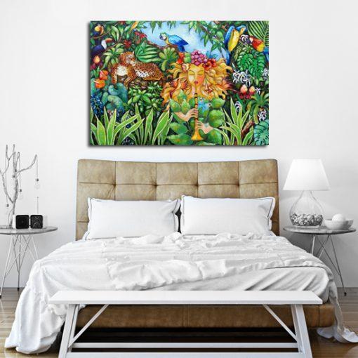 dekoracja do sypialni - reprodukcja malarstwa