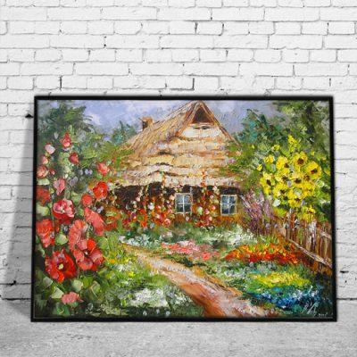 kolorowe dekoracje z reprodukcjami
