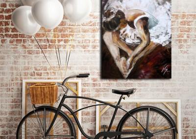 plakat jak malowany - baletnica