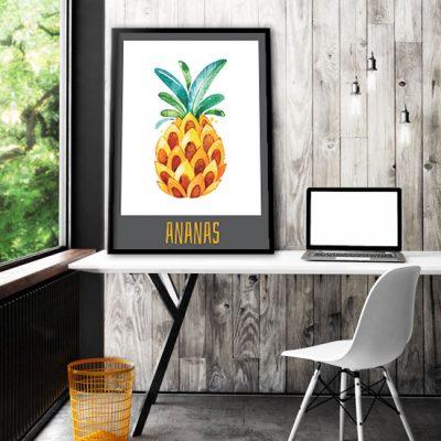 dekoracje z ananasem