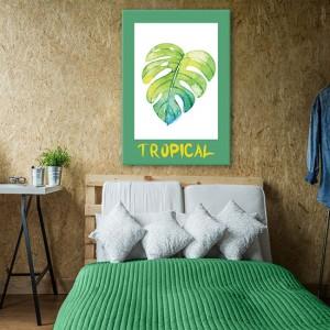 ozdoby z tropikami