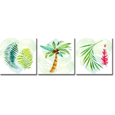 tryptyk z tropikami