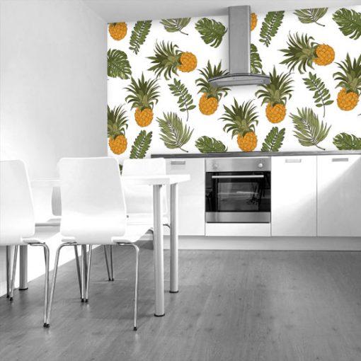 ozdoby z ananasami