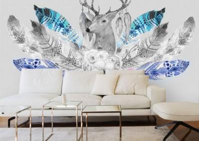 jakie dekoracje do skandynawskiego salonu