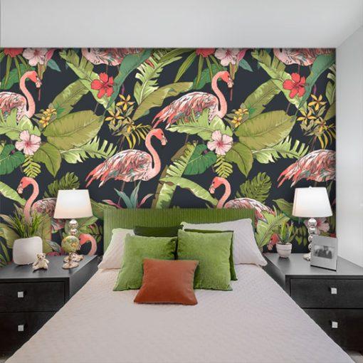 dekoracje z tropikalnymi rytmami