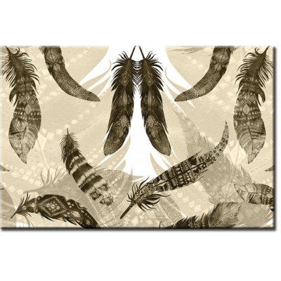 tapety z ptasimi piórkami