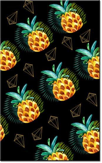 tapety z ananasem