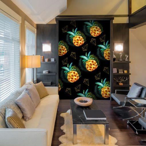 fototapety z ananasmi